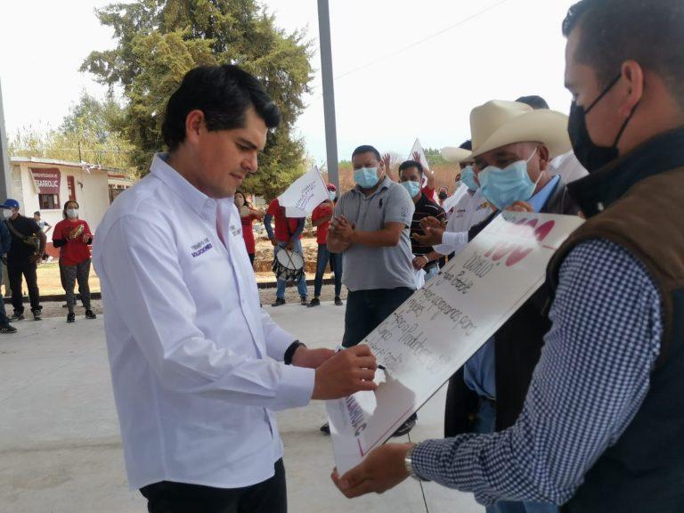 Hagamos que Zitácuaro sea tierra de oportunidades: Toño Ixtláhuac