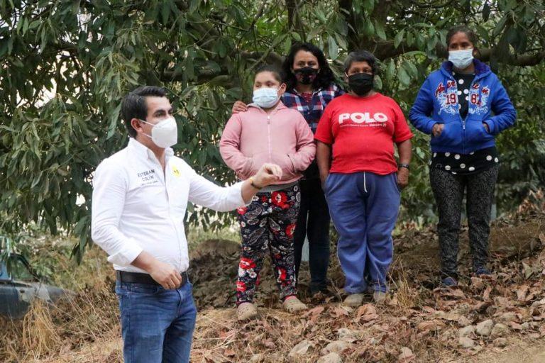 Nuestra campaña es de cercanía con el pueblo de Susupuato: Esteban Colín