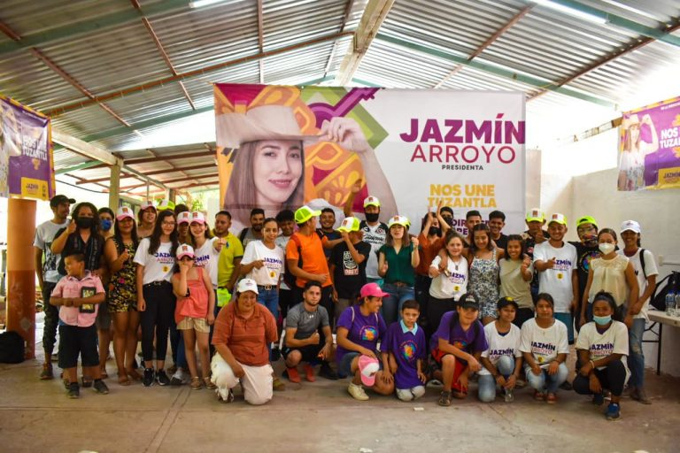 En mi administración, las juventudes siempre tendrán las puertas abiertas: Jazmín Arroyo