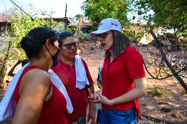 Campaña de propuestas y de cercanía con la gente: Jazmín Arroyo
