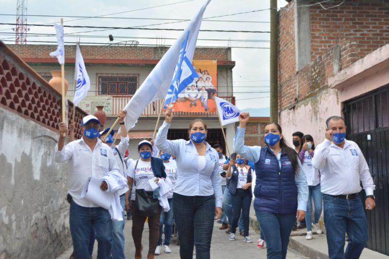 EN ACCIÓN NACIONAL ESTAMOS SEGUROS QUE CON IDALÍ ACUÑA, VAMOS A GANAR EL MUNICIPIO DE HIDALGO: TERESITA HERRERA