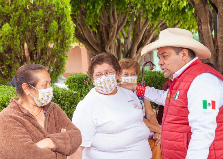Las 11 tenencias de Hidalgo tendrán apoyos para salir adelante: Tony Martínez