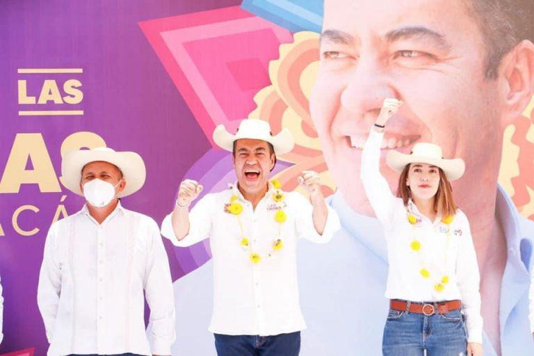 Desde Tuzantla, todo el apoyo para nuestro próximo gobernador: Jazmín Arroyo