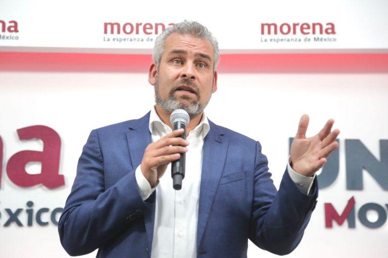 Silvano debe respetar el resultado de la elección, porque vamos a ganar: Bedolla