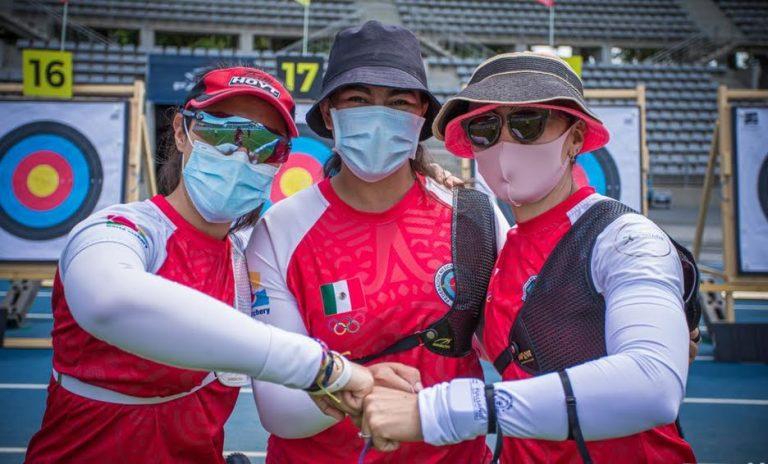 El equipo femenil de tiro con arco logró su plaza olímpica para Tokio 2020
