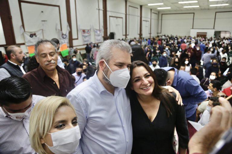 La gente votó para sacar a la corrupción y que gobernemos con honestidad: Bedolla