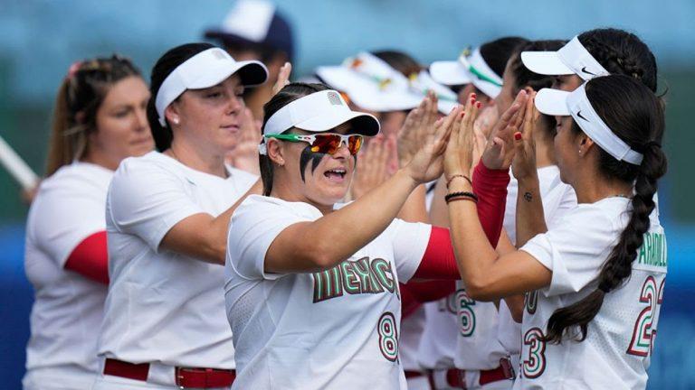 Juegos  Olímpicos Tokio: La delegación mexicana tuvo su primera participación en Softbol