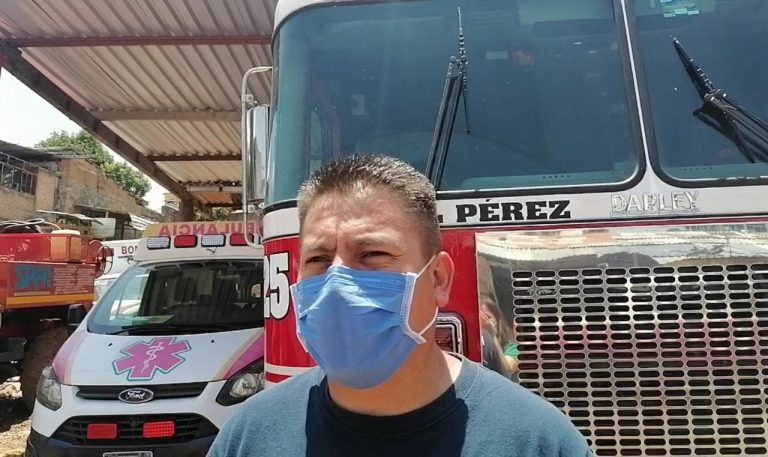Incrementan casos de COVID-19 en Zitácuaro, Bomberos realizaron 11 traslados en tan sólo una semana