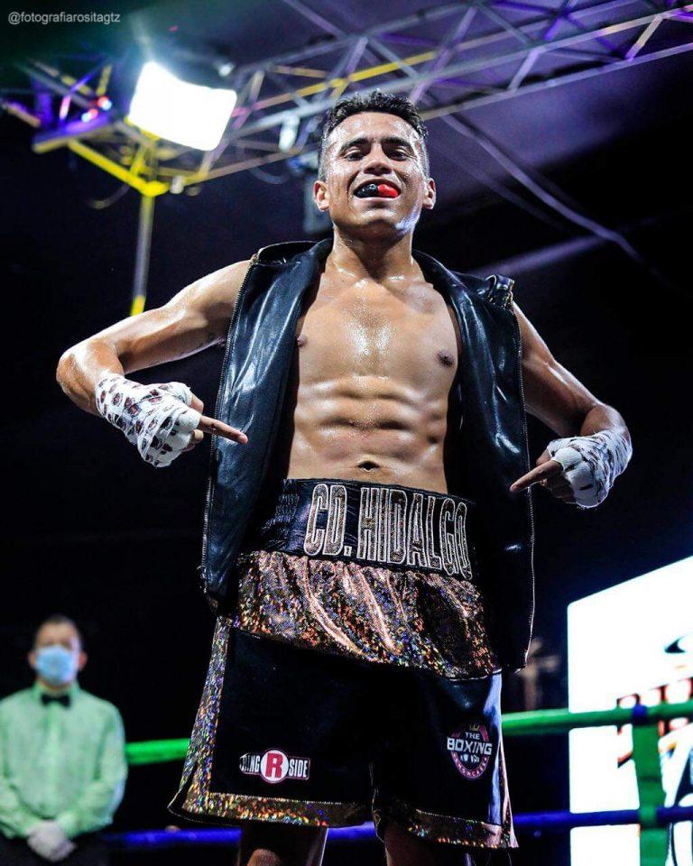 El boxeador ciudadhiadalgense Eduardo Trejo gana por KO pelea en Tijuana