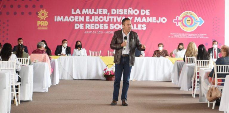 Las causas y luchas del PRD deberán reflejarse en resultados a la ciudadanía: Víctor Manríquez