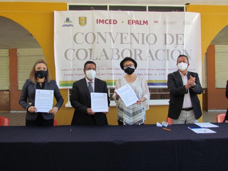 La EPALM y el IMCED firman convenio de colaboración