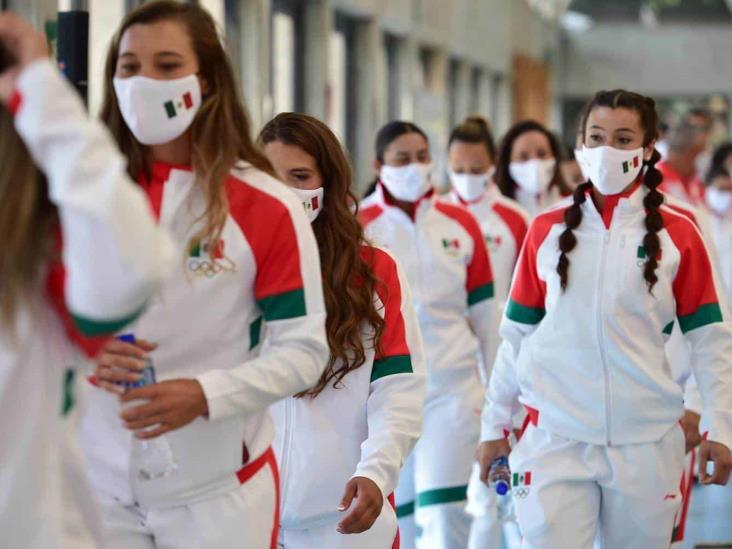 Juegos Olímpicos: Aeronave de la Fuera Área Mexicana, al servicio de la Delegación Mexicana para Tokio 2020