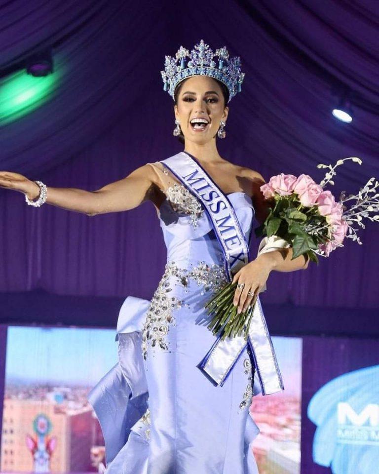 La Michoacana Karolina Vidales logra coronarse como Miss México 2021.