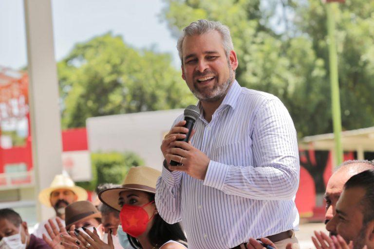 Imposible que ganaran los corruptos en Michoacán, están moralmente derrotados: Bedolla.