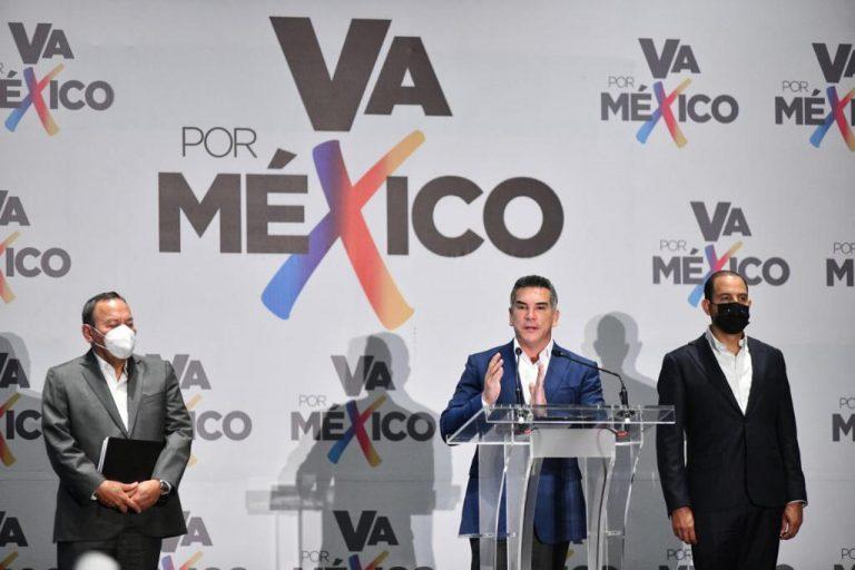 """POR AGRAVIOS Y VIOLACIONES, """"VA POR MÉXICO"""" IMPUGNARÁ ELECCIONES EN CAMPECHE, GUERRERO, SAN LUIS POTOSÍ Y MICHOACÁN"""