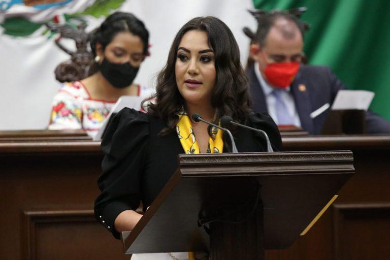 GPPRD exhorta a que Michoacán no se convierta en narco estado y se limpie elección: Mónica Valdez