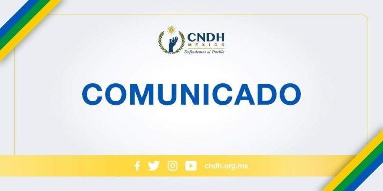 CNDH SOLICITA PROTECCIÓN PARA EL  PERIODISTA ÓSCAR BALDERAS MÉNDEZ