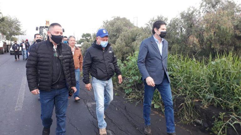 Continúa Ayuntamiento de Morelia la limpieza de ríos, drenes y cunetas
