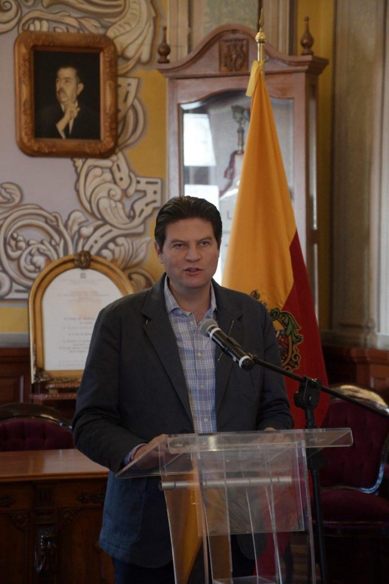 Garantiza Alfonso Martínez respeto a derechos humanos y a principios de presunción de inocencia.