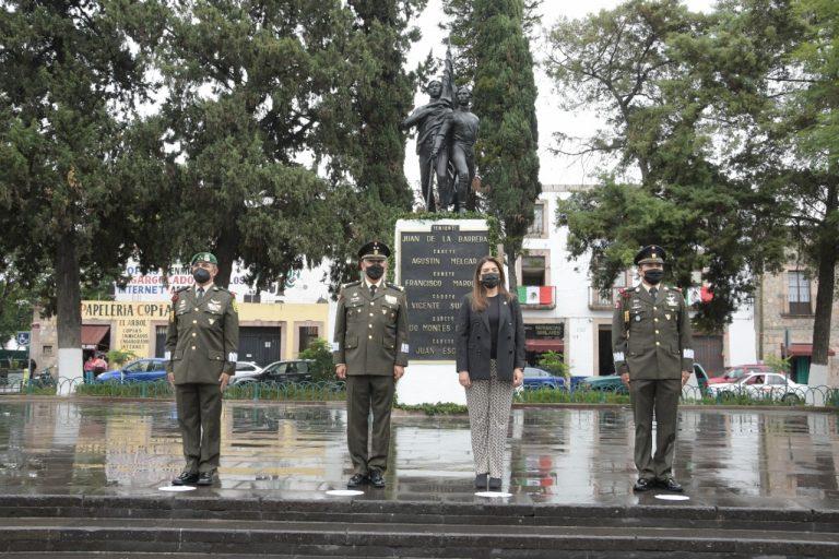 Ayuntamiento de Morelia conmemora CLXXIV Aniversario de la Gesta Heroica de los Niños Héroes de Chapultepec.