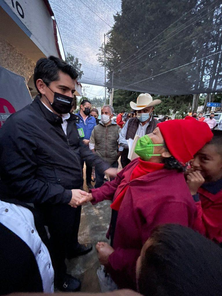 Habrá Presupuesto Histórico Para Obra en San Juan Zitácuaro: Antonio Ixtláhuac