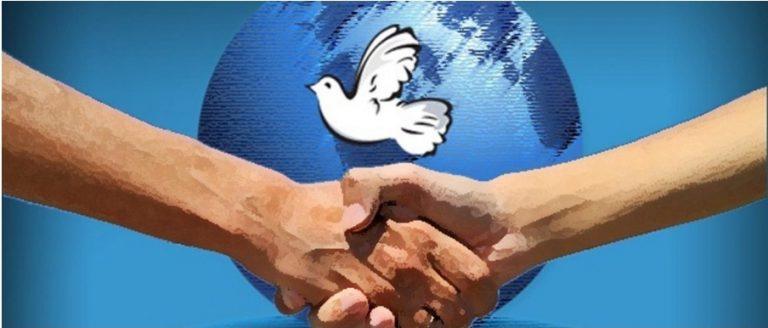 La paz como valor vigente.
