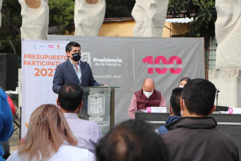 Convoca Toño Ixtláhuac a la ciudadanía a ser parte del Presupuesto Participativo 2022