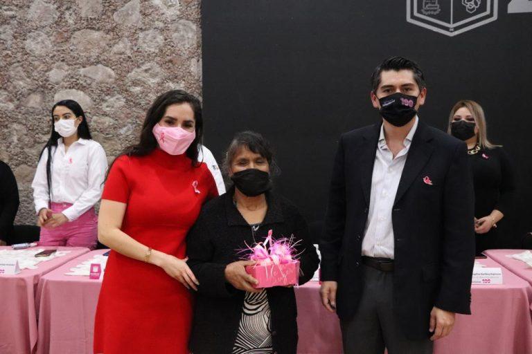 """""""Nuestro compromiso es garantizar todo el respaldo a las víctimas del cáncer de mama"""", Toño Ixtláhuac"""