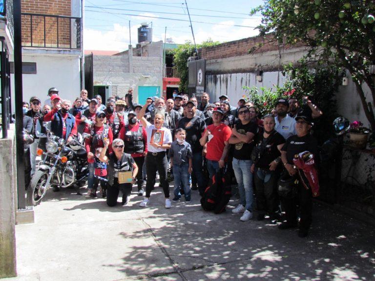 El Moto Club Viejos Vagos Viajeros realizó homenaje póstumo a Dagoberto Ibarra