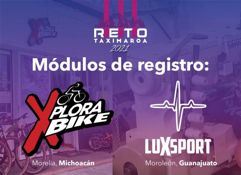 Para el Reto Taximaroa 2021… Instalarán módulos de registro en Xplora Bike y Lux Sport