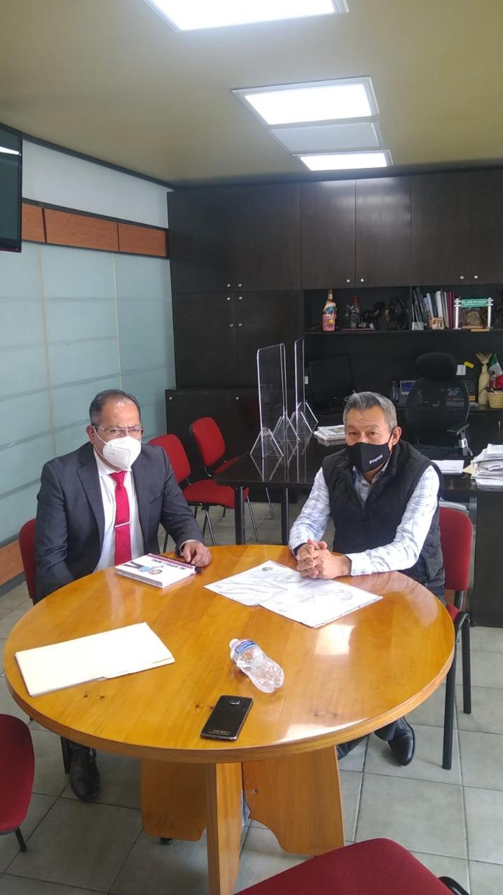 José Luis Téllez visitó las oficinas centrales de la Secretaria de Comunicaciones y Transportes en la Ciudad de México con el fin de darle continuidad a los proyectos de infraestructura carretera en el municipio de Hidalgo