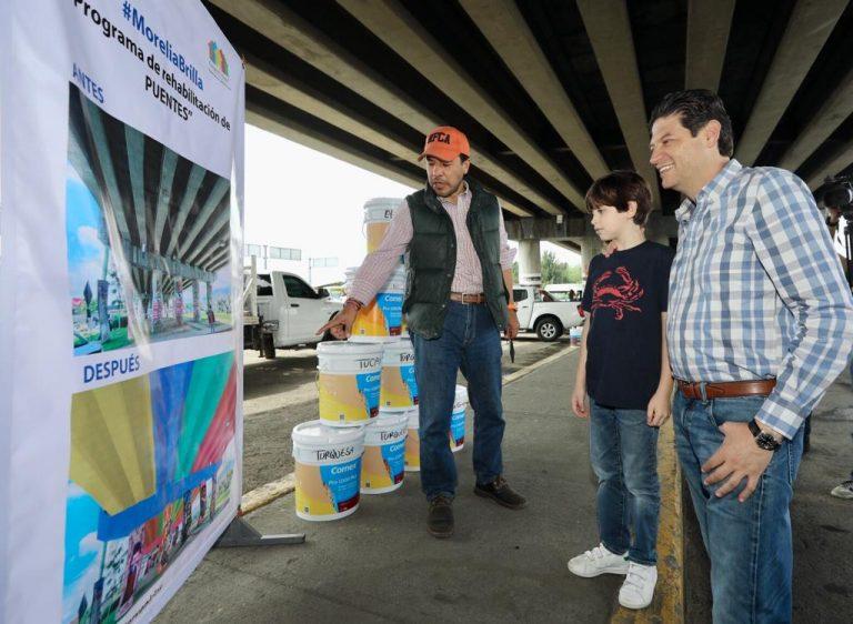 Pone en marcha Alfonso Martínez, programa de rehabilitación de bajo puentes