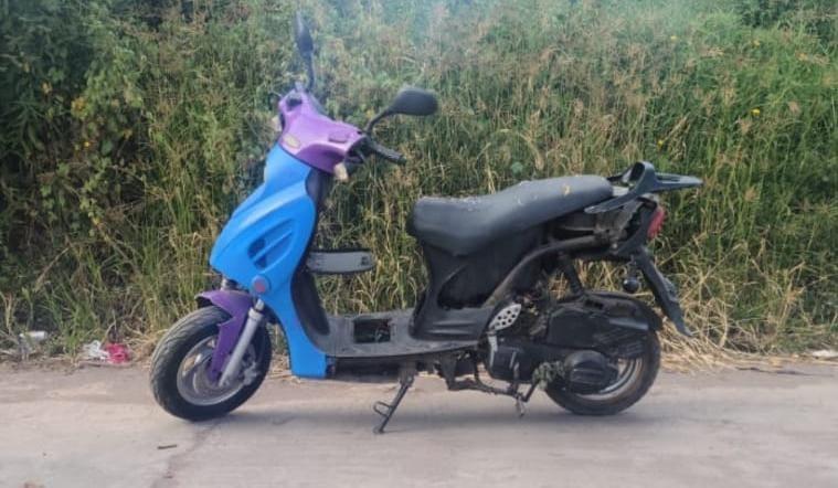 En Hidalgo, SSP localiza motocicleta con reporte de robo