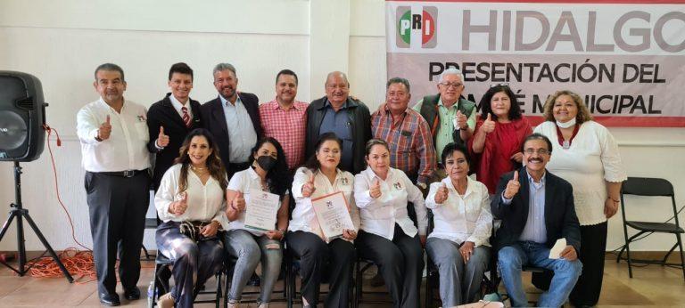 En PRI presentan Comité Municipal Provisional encabezado por Arq. Martin Marín González