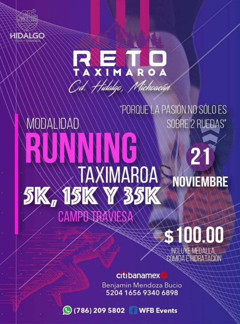Para el Reto Taximaroa 21 habrá la modalidad de running